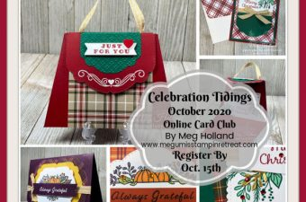 Celebration Tidings Online Card Club